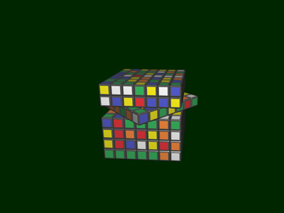 3D Rubik's Screensaver