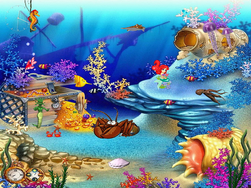 Free aquarium screensaver animated aquaworld