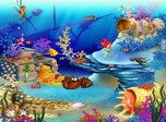 Free Aquarium Screensaver - Animated Aquaworld