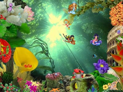 Download free underwater screensaver! affordable Screen Shot