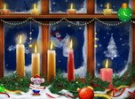 Christmas Screensaver - Christmas Candles