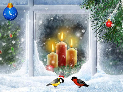 Click to view Christmas Candles Screensaver screenshots