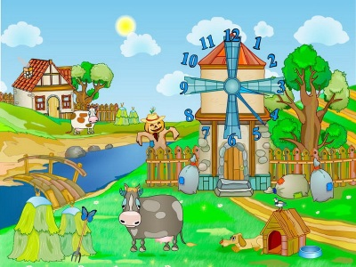 Click to view Farm Clock Screensaver screenshots