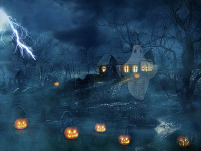 Click to download Halloween Dusk Screensaver