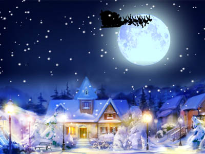 Click to view Jingle Bells Wallpaper screenshots