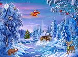 Free Christmas Screensaver - Christmas Symphony