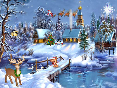 Click to view Christmas Symphony Screensaver 3.0 screenshot