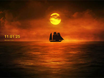 Click to download Twilight Ship Screensaver