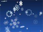 3D Winter Snowflakes Screensaver - Free Screensaver for Windows