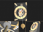 Pendulum Clock 3D Screensaver - Free Screensaver for Windows