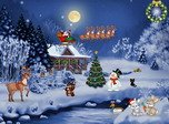 Christmas Evening Screensaver - Download Free Screensavers