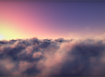 Flying Clouds Screensaver - Free Screensaver for Windows