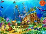 Download Free Screensavers - Pirates Galleon