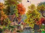 Download Free Screensaver - Village Idyll