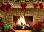 Holiday Screensavers - New Year Fireplace Screensaver