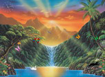 Paradise Falls - Animals Screensavers