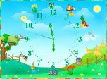 Seasonal Clocks - Windows 8 Nature Screensavers Download