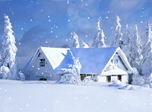 Snowfall Fantasy - Free screensaver