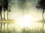Sunrise Lake Screensaver - Nature Screensavers