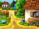 Sunny Village Screensaver - Animated Screensavers