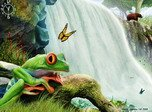 Waterfalls Symphony - Windows 8 Animals Screensavers Download