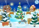 Holiday Screensavers - Christmas Yard