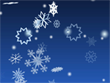 3D Screensavers - 3D Winter Snowflakes Bildschirmschoner