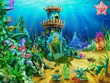 Download Free Screensavers - Aqua Castles Screensaver