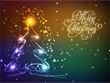 New Year Screensavers - Neon Snowfall Screensaver