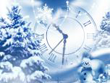 New Year Screensavers - Snowfall Clock Screensaver