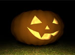 Free Halloween 3D Screensaver - 3D Pumpkin - Screenshot #1