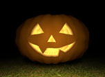 Free Halloween 3D Screensaver - 3D Pumpkin - Screenshot #2