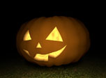 Free Halloween 3D Screensaver - 3D Pumpkin - Screenshot #3