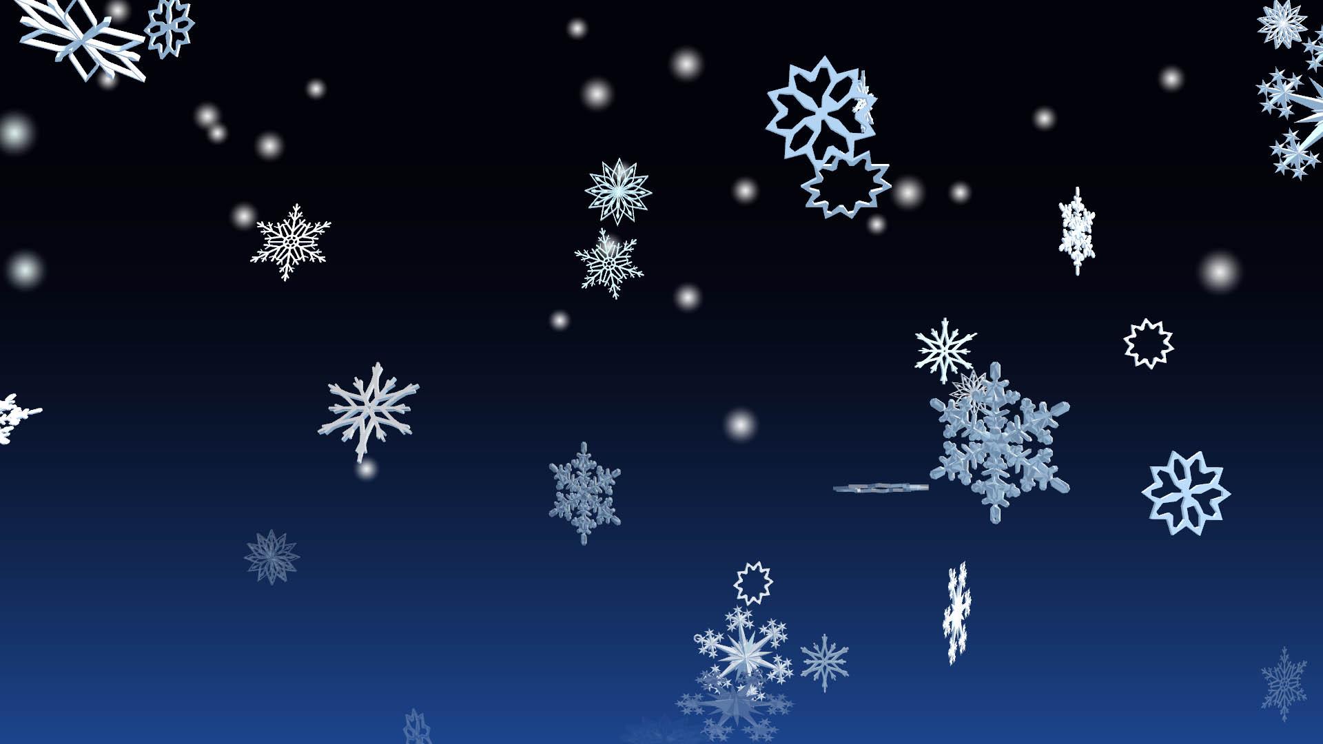 3d Winter Snowflakes Screensaver For Windows 3d Snowflakes Screensaver