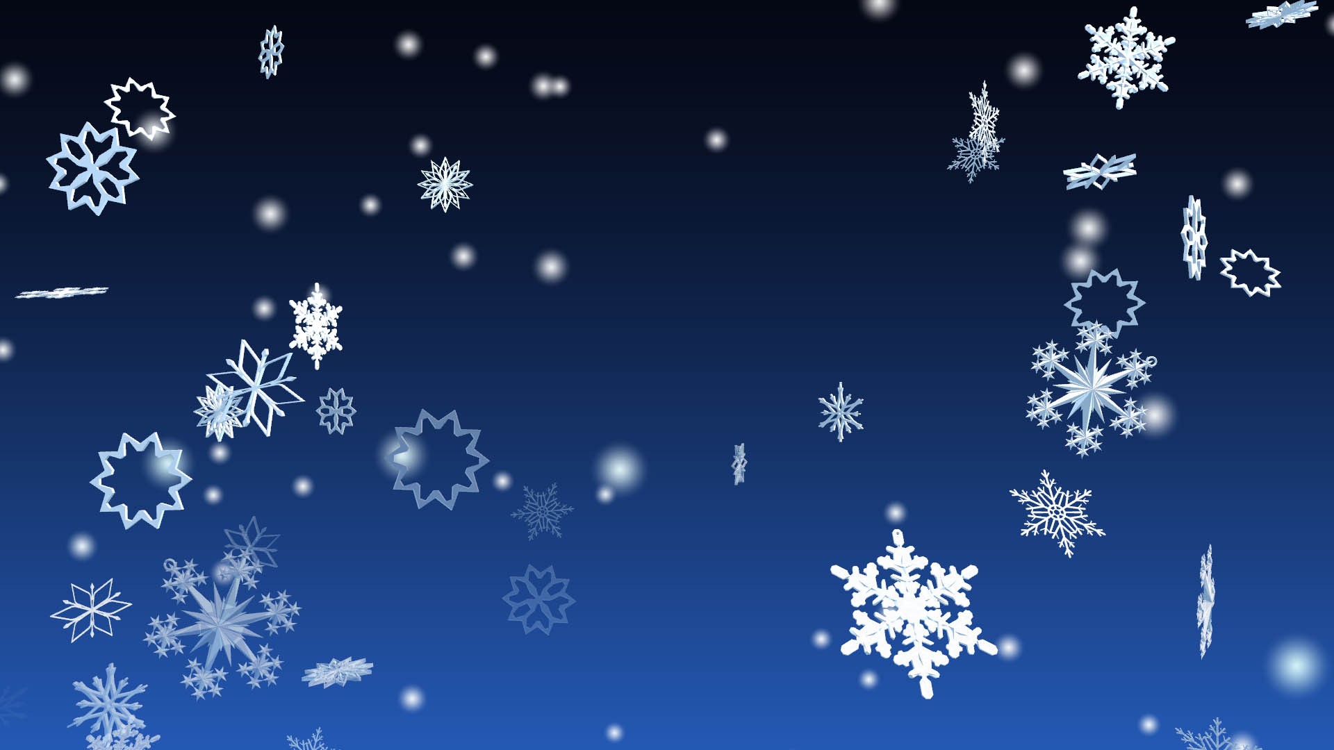 3d winter snowflakes screensaver 3d snowflakes - Free screensavers snowflakes falling ...
