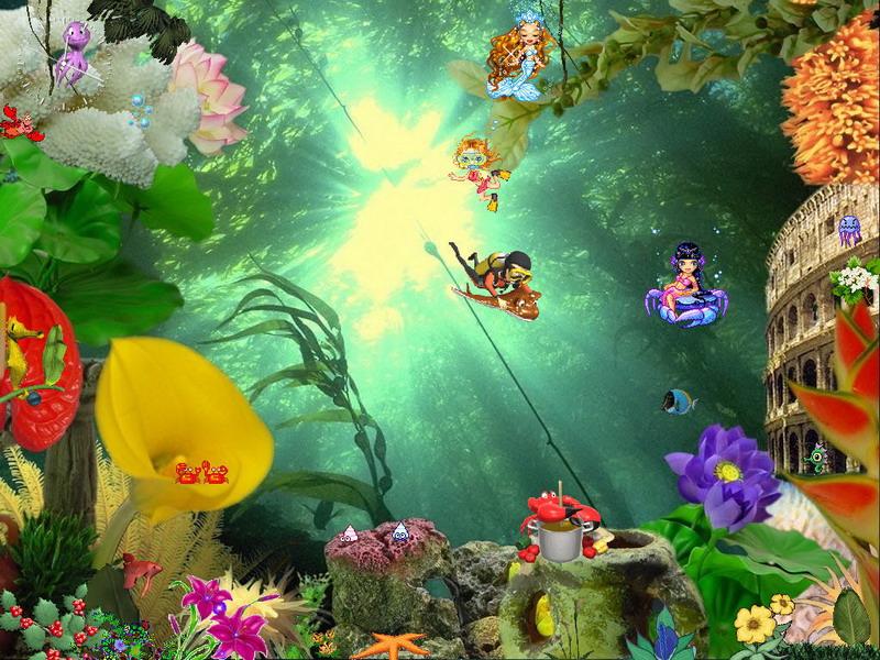 free aquarium screensaver animated aquaworld screenshot 1