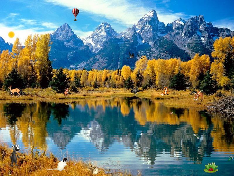 Autumn Fantasy Screensaver For Windows Nature Screensavers