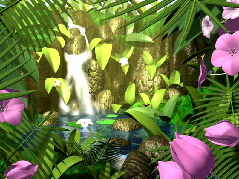 Butterflies kingdom 3d nature screensaver - A live nature wallpaper ...