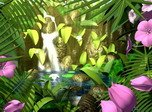 Natur-Bildschirmschoner - Butterflies Kingdom 3D - Screenshot #3