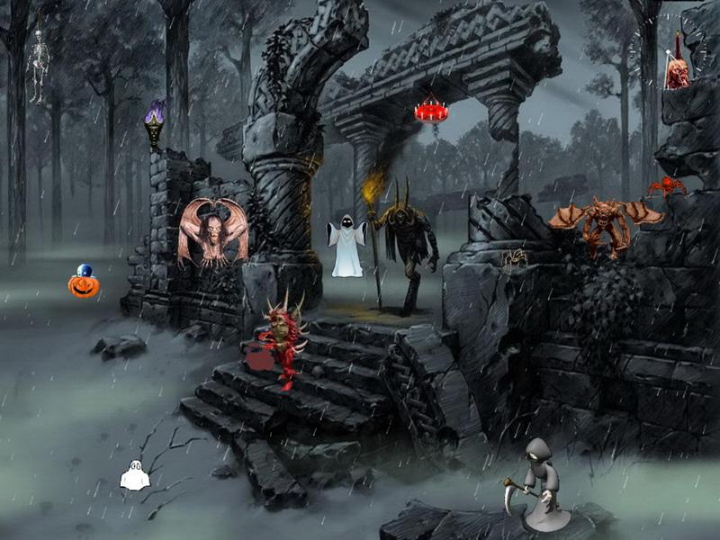 halloween screensaver dark forces - Halloween Screensavers Animated