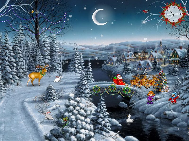 free christmas screensaver christmas delight screenshot 1