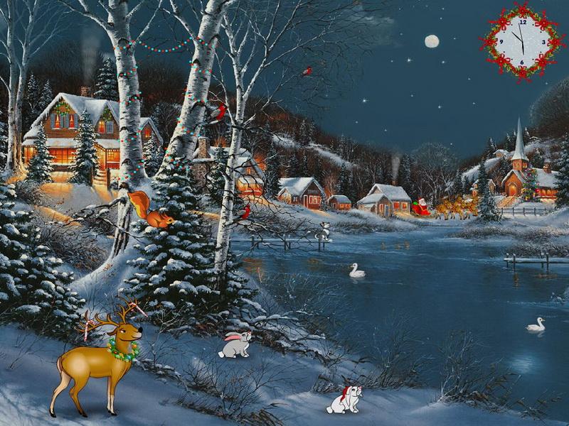 Christmas delight free screensaver