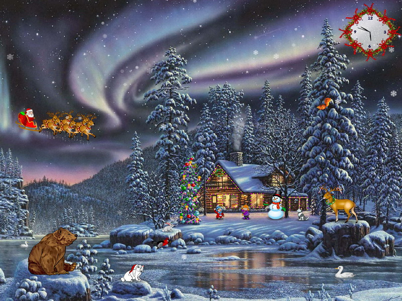 free christmas screensaver christmas delight screenshot 3