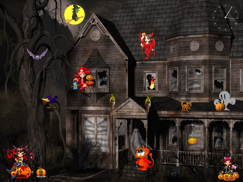 halloween screensaver funny halloween screenshot 2