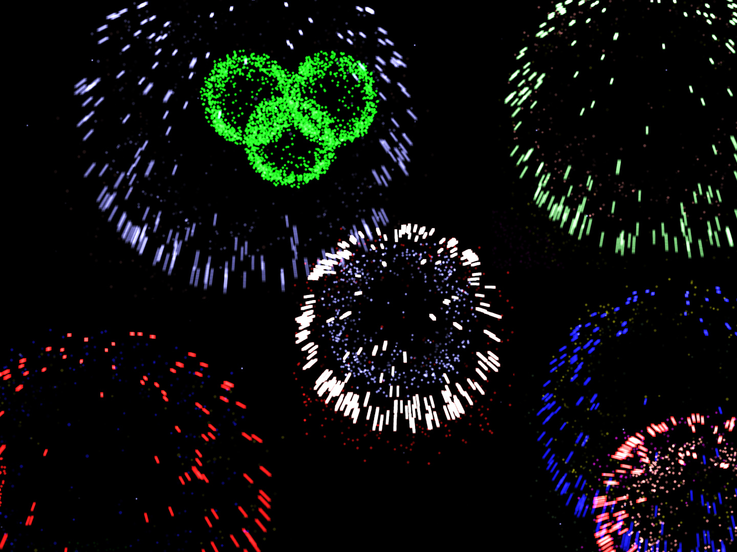 free fireworks 3d screensaver fireworks 3d screenshot 1