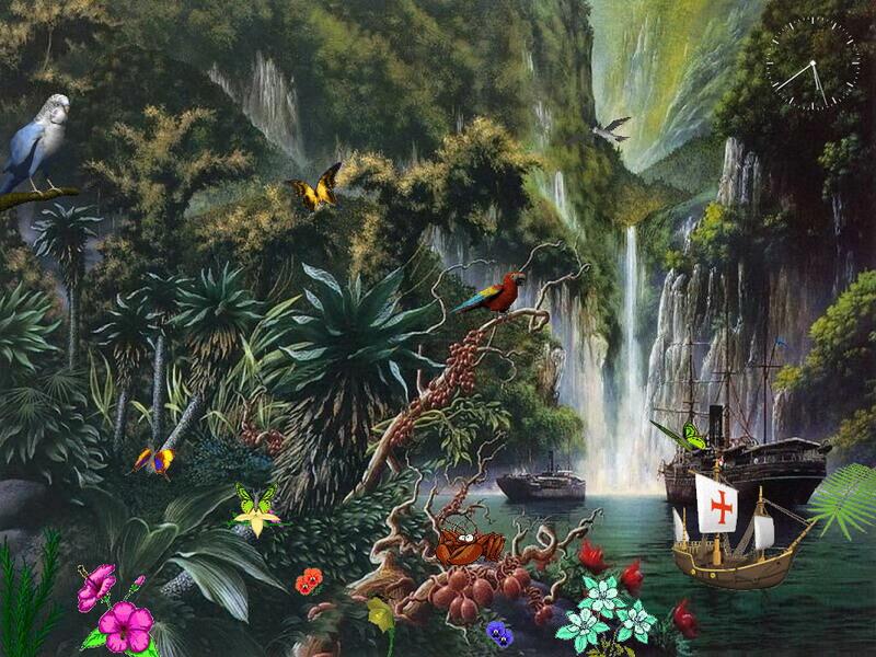 Free Animated Screensaver - Fascinating Waterfalls ...