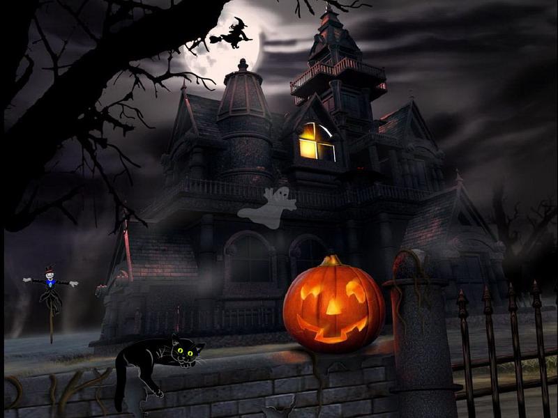 Halloween Screensaver - Halloween Adventure - FullScreensavers.com
