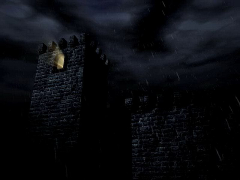 Free Holiday Screensaver - Dark Halloween Night 3D ...