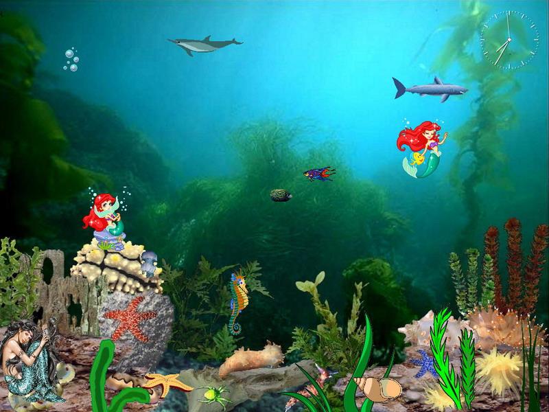 Free Funny Screensavers 2: Mermaids Kingdom Screensaver