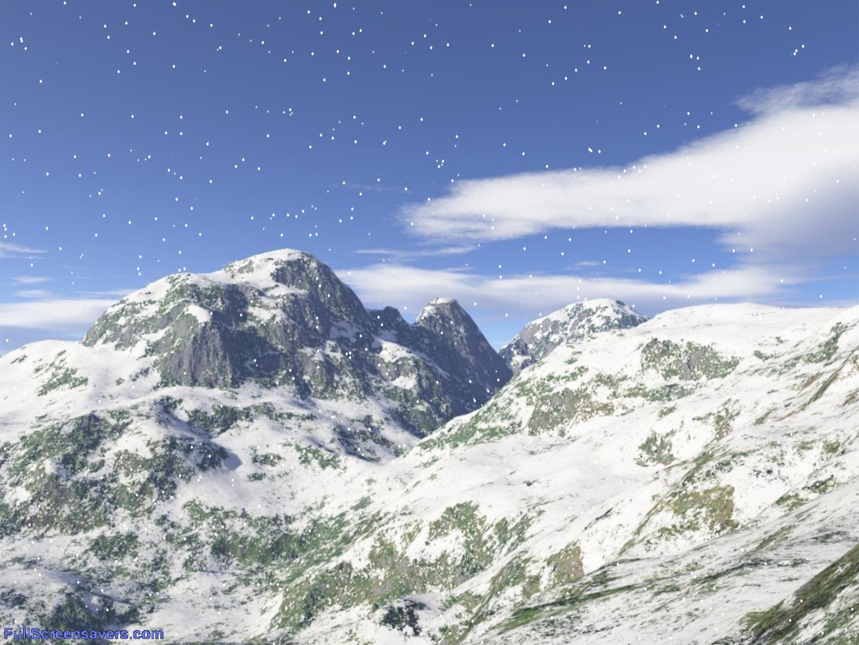 Winter mountain screensaver for windows free winter screensaver - Mountain screensavers free ...